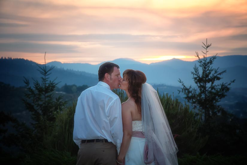 southern oregon, photography, wedding, love, sunset